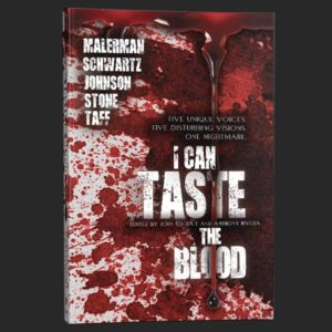 i can taste the blood splatter cover anthony rivera grey matter press