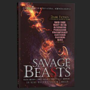 savage beasts metal cover anthony rivera grey matter press